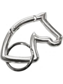 Llavero silueta cabeza de caballo